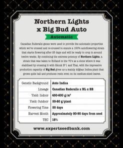 northern lights x big bud auto bulk2