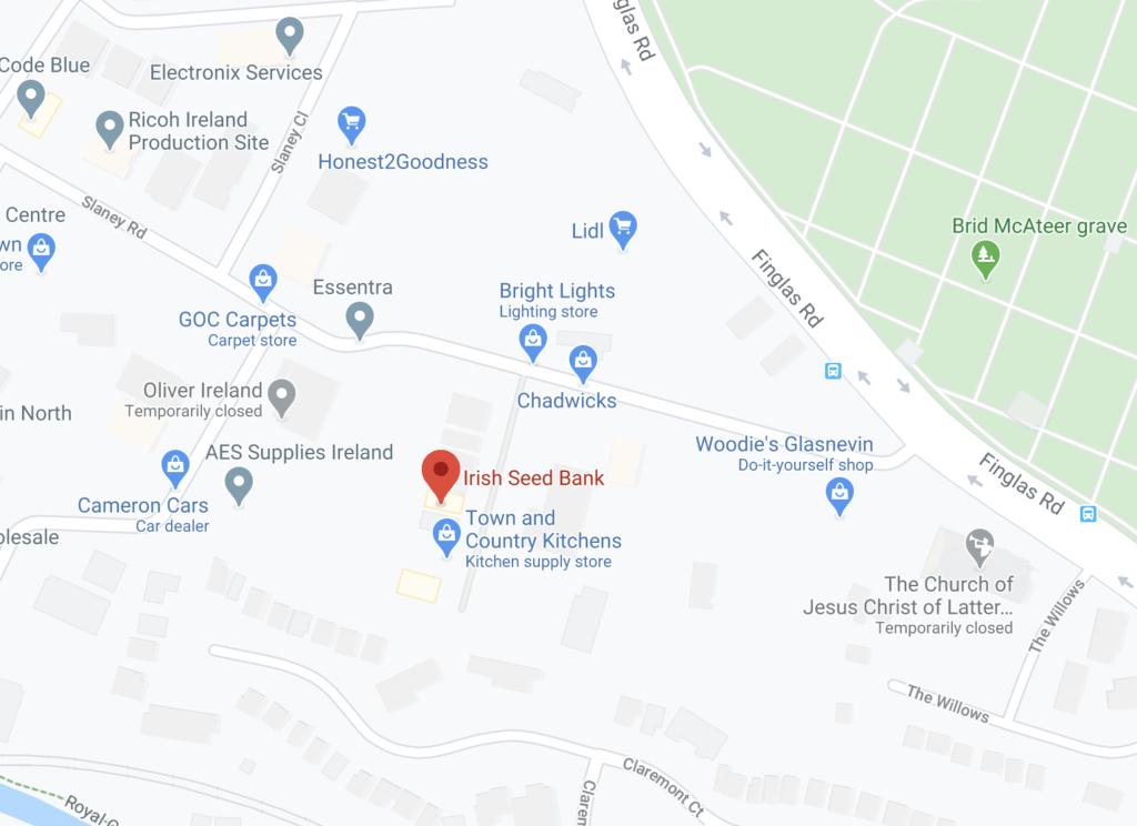 Irish Seed Bank Google Maps 2020 07 14 20 13 46